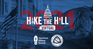 hike the hill 2021 logo graphic