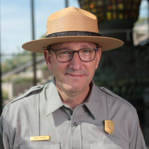 Portrait of Dave Moore Courtesy NPS.