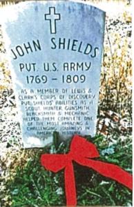 Private ShieLd Grave, Courtesy: American Legion Post 5365 Chaplin Richard Goodwin