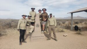 2021 Warrior Hikers at the start of their thru-hike of the Continental Divide National Scenic Trail