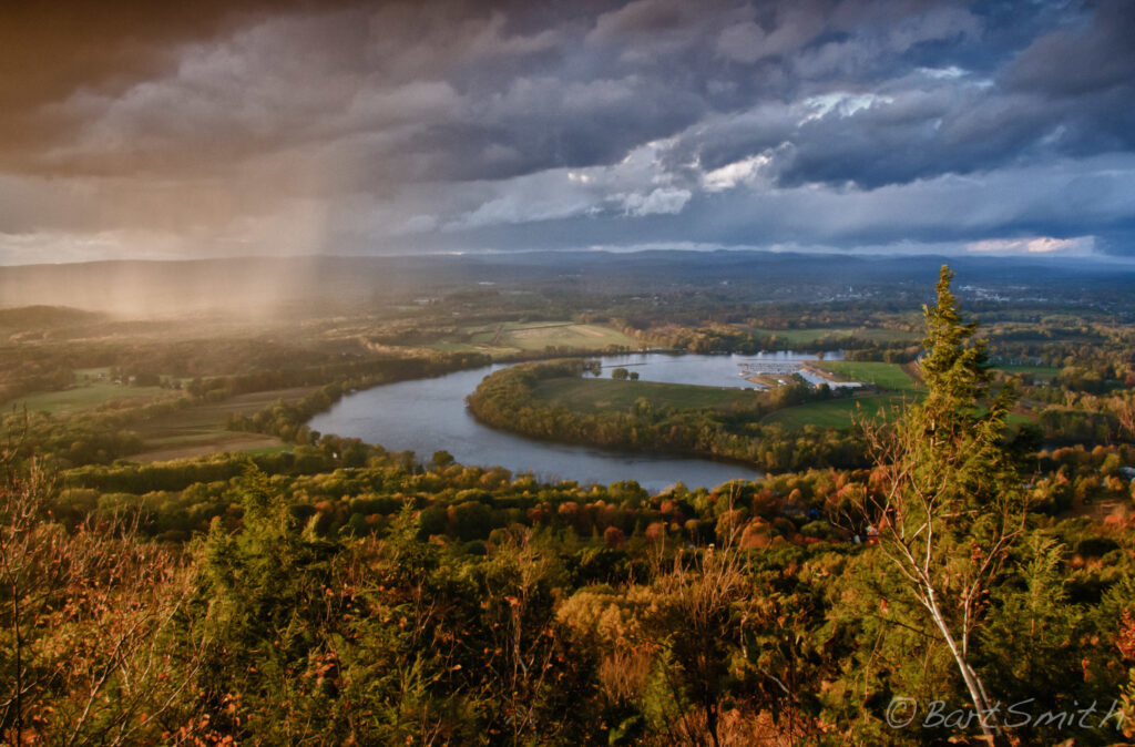 Photo of the Connecticut River from the New England NST courtesy Bart Smith.